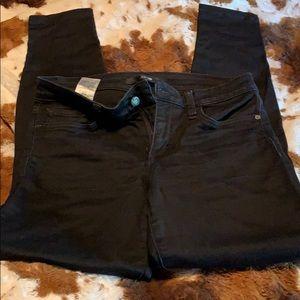 Joe's jeans size 27 fit skinny color black